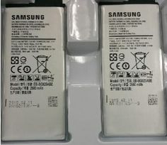 Samsung Galaxy S6 battery has a 2600 mAh capacity with the model number EB-BG925ABE...