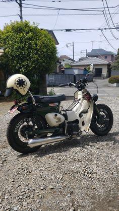 Moto Car, Moto Bike, Motorcycle Bike, C90 Honda, Ninja Bike, Honda Scooters, Enfield Bike, Small Motorcycles, Yamaha Cafe Racer