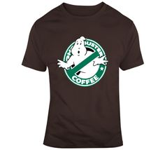 Ghostbuster Coffee T Shirt Ghostbusters, Gifts For Friends, Coffee, Drinks, Mens Tops, How To Make, T Shirt, Stuff To Buy, Fashion