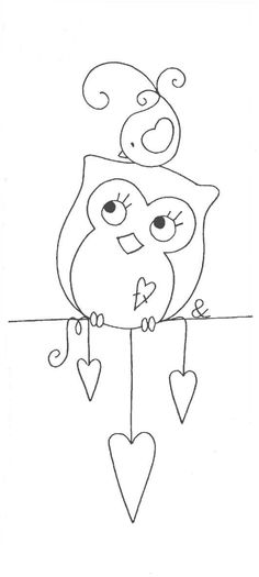 net by Rosi Patchwork & Quilting, mothersday Cross Stitch Embroidery, Hand Embroidery, Embroidery Designs, Motifs D'appliques, Owl Crafts, Applique Patterns, Felt Patterns, Owl Applique, Applique Ideas