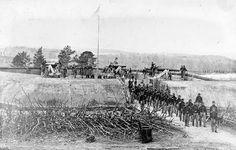 Fort Stevens in 1864