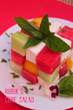 Rubik's Cube Salad