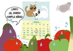 Cumpleaños del dibujante - Tarta de manzana