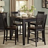 Found it at Wayfair - Three Falls 5 Piece Counter Height Dining Set