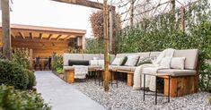 Outdoor Sectional, Sectional Sofa, Small Patio Design, Outdoor Furniture Sets, Outdoor Decor, Relax, Backyard, Balcony, Home Decor