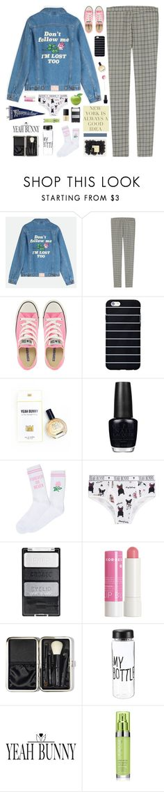 """""""☾ i'll take with me the polaroids and the memories"""" by thundxrstorms ❤ liked on Polyvore featuring Uniqlo, Converse, GET LOST, OPI, Korres, Bobbi Brown Cosmetics, Yeah Bunny, Rodial, NARS Cosmetics and hannahs5kchallenge"""