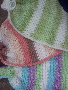 Hanging Hand Towel Using One Ball Of Cotton By Terri - Free Crochet Pattern - (thepurplehooker.blogspot)