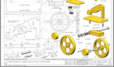 Sheet Metal Drawing, Metal Detektor, Mechanical Engineering Projects, Solidworks Tutorial, Isometric Drawing, Car Design Sketch, 3d Drawings, Mechanical Design, Technical Drawing