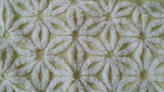 Hofmann Vintage Yellow and White Daisy Chenille Bedspread Flowers Floral Twin