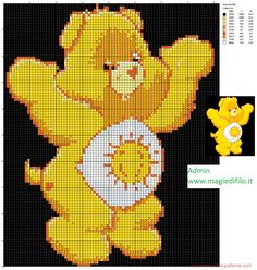 Funshine Bear cross stitch