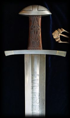 Hrafn - Ulfberht Sword Replica by Brendan Olszowy Fable Blades Viking Sword Maker