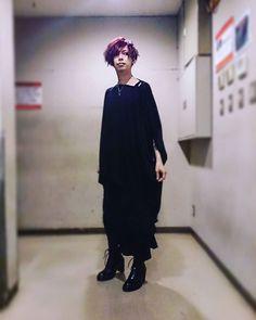 シャド限大阪公演お疲れさまでした... 今宵の戯れも楽しゅうございましたよ... SHADOWSの皆さんに感謝!  #lynch. #悠介 #新衣装