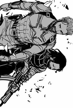 Marvel Art, Marvel Dc Comics, Comic Book Characters, Marvel Characters, Sebastian Stan, Captain America And Bucky, Winter Soldier Bucky, Bucky And Steve, Writing Art