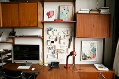 Johanna Burke — Set Designer, Apartment and Studio, Brooklyn, New York