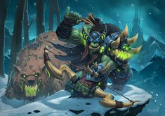 Hearthstone: Heroes of Warcraft - Deathstalker Rexxar