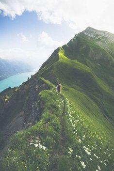 Beautiful Path : by Rodrigo Carabajal : Aelgau, Canton of Berne, Switzerland: The highest line betwe Slot Canyon, Luang Prabang, Coron, Cebu, Santorini Holidays, Journey Pictures, Hallstatt, Photography Tours, Evening Sky