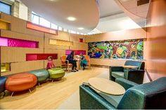 Cincinnati Children's, Cancer and Blood Disease Institute waiting room - Cincinnati, OH.