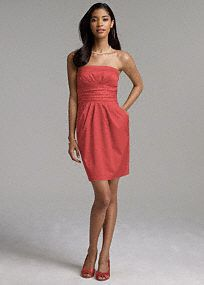 Chic simplicity. This cotton sateen dress is flattering and versatile; a must-have addition to this seasons wardrobe! Ruching at bodice creates a slimming look. Fully lined. Back zip. 100% cotton. Made in USA. Dry clean. To protect your dress, our Non Woven Garment Bag is a must have! *SPECIAL VALUE! Was , Now ! (final selling price; no additional discount may be applied).