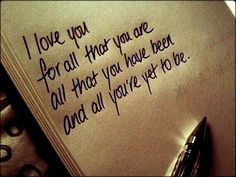 I love you words-to-live-by