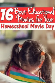 Need a homeschooling break? Schedule in a homeschool movie day where you kids  won't realize they are learning with these 16 fun educational movies!