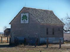 shamrock-Morgan County Barn Quilts in Colorado