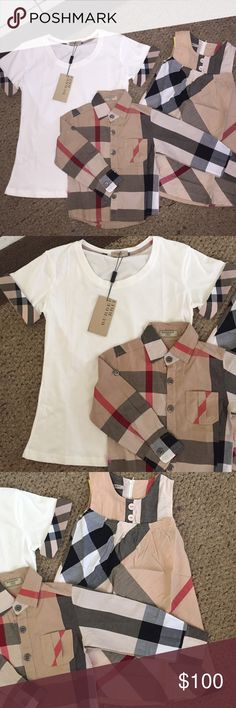 Mommy   Us Burberry Photoshoot Brand new with tags. All sizes available  from… ef5c015634