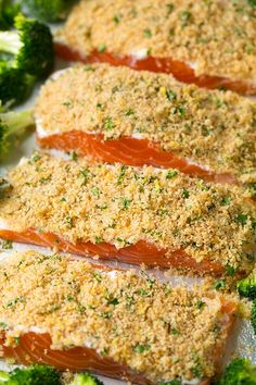 7 Easy Dinners To Make This Week 7 Easy Dinners To Make This Week We Ve Got You Covered One Sheet Pan Parmesan Crusted Salmon With Roasted Broccoli Cooking Classy Baked Salmon Recipes, Fish Recipes, Seafood Recipes, Cooking Recipes, Seafood Meals, Diabetic Recipes, Cooking Ideas, Salmon Dishes, Fish Dishes