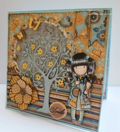 Feel&Felt: Gorjuss Autumn Card