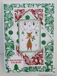 Crafty Girl 21!: TSB Christmas Card