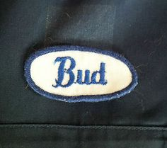 Embroidered Name Tag Patch Badge Auto Mechanic Vintage Rockabilly Hot Rod  Shirt