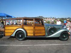 Yes...1933 Rolls Royce Woody
