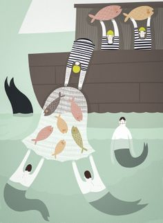 Curious Characters of the Sea | Little Gatherer