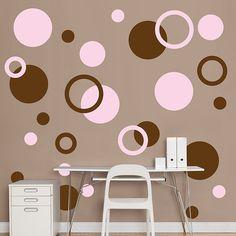 Pink And Brown Wallpaper принты иллюстрации