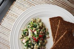 Tuna, Parsley & Radish Salad