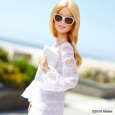 This lace look is one of my favorites for summer!  #barbie #barbiestyle