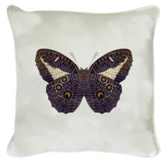 This bold butterfly design will make a beautiful additon to your living room