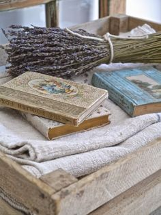Chateau Chic: Decorating with Vintage Books