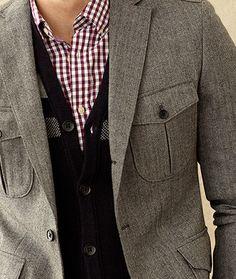 Love this jacket. @TOMBOY STYLE
