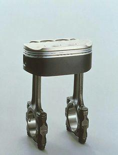 Honda NR750 piston #art in #engineering #motorcycles i spy jewelry inspiration...