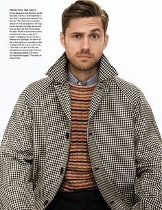 aaron tveit fashionisto 004 Aaron Tveit by Saria Atiye for Fashionisto #8