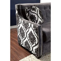 Hokku Designs Johannes Premium Damask Loveseat & Reviews | Wayfair