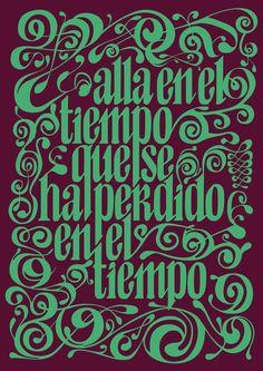 Hyperfuente by Eugenia Echevarria, via Behance