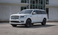 The 2020 Lincoln Navigator luxury SUV brings more standard tech and safety features, more luxury, and more style in the form of three Monochromatic styling packages. Cadillac Escalade, Lincoln Suv, New Lincoln, Abraham Lincoln, Lincoln Aviator, Large Suv, The Rouge, Top Luxury Brands, Lincoln Mercury
