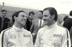 Graham Hill Jim Clark &