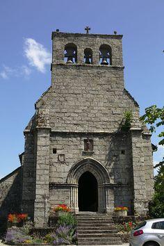 Église Notre-Dame de Clergoux. Corrèze. Limousin