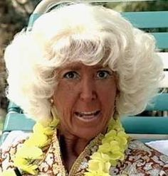 When the tanning is to much. I know someone of this sort  do you.