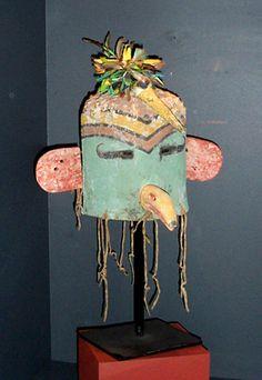 Masque kachina Tocha, colibri