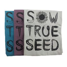 We are excited to unveil our newest t-shirt design!! Can you name all of these beautiful vegetables?   We have three different shirt options available. From left to right we have the women's 60% cotton 40% polyester blend in blue, the 65% polyester 35% cotton women's tank top in light purple, and the 100% Organic Cotton unisex tee in grey. Something for everybody! New T Shirt Design, Shirt Designs, Sweet Potato Slips, Garden Gifts, Grow Your Own, Flower Seeds, Vegetable Gardening, Light Purple, Organic Cotton