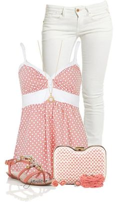 Pink Outfit set: looks like what I wore to movies yesterday. Fashion Moda, Look Fashion, Fashion Outfits, Womens Fashion, Fashion Trends, Teen Fashion, Woman Outfits, Fashion Inspiration, Spring Summer Fashion