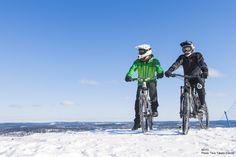 Cycling in Laajavuori. ©HTC Photo: Tero Takalo-Eskola.